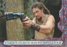 Stargate Atlantis Seasons 3&4 Atlantis Promo Card P2