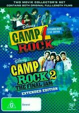 Camp Rock / Camp Rock 2 * NEW DVD * Demi Lovato Jonas Brothers