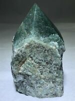 "4"" Green Aventurine Point Cluster Crystal Quartz Natural Stone MMS"