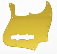 New pickguard JAZZ BASS - gold - effet miroir - acrylique -