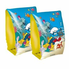 THE SMURFS Children Swimming Inflatable Arm bands Swimming Aid Girls Boys Kids