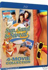 SUN, SAND & SWEAT BLU-RAY-PRIVATE RESORT-PERFECT-HARDBODIES-SPRING BREAK-4 FILMS