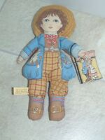 "1984 Toy Works by Valerie ""What Little Boys are Made of"" Cloth 2 Sided 12"" Doll"