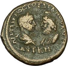 GORDIAN III & SERAPIS on MARCIANOPOLIS Ancient Roman Coin Victory Nike i39791