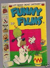 FUNNY FILMS #26, ACG COMIC, BLUNDER BUNNY, etc