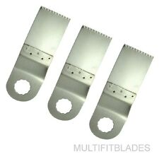 """ROCKWELL Sonicrafter 1-1/4"""" Fine Tooth Stainless Steel Oscillating Saw Blade x 3"""