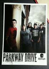 PARKWAY DRIVE KILLING WITH A SMILE 5x7 MUSIC AD POSTCARD Mini SM PROMO POSTER