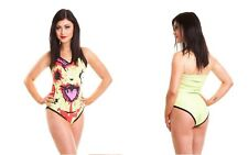 Cupcake Cult Chu Chu Yellow (Zombie Pikachu?) Swimsuit/Swimming Costume/Swimwear