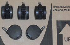 Five Bb Standard Casters Wheels for Herman Miller Aeron Mirra Embody Sayl Chair