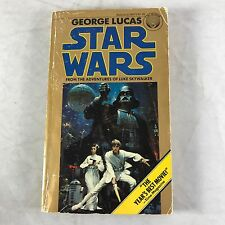 vtg Star Wars Book 1976 Paperback Novel Movie Tie-in Edition 7th Printing 1977