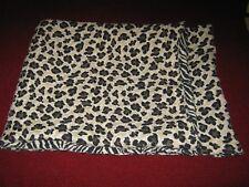 Reversible Leopard / Zebra Print Table Runner