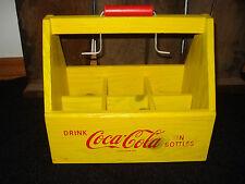 NEW DECOR COKE COCA COLA 6 PACK CARTON CARRIER tray glass bottle holder soda pop