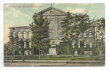 DETROIT MICHIGAN Western High School - Circa 1912