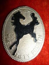The 54th Cavalry Cap Badge - Pakistan Army - Armoured Corps