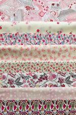 "'Pinks', Liberty Vintage Tana Lawn scrap Packs 6"" X 9"" Containing 8 Pieces 🌸💘"