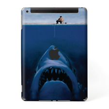 Skins Decal Wrap for Apple iPad 9.7 2017 Jaws Great White Under Boat