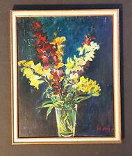 ALBERT KAMRAN sveva Artista ULM +1994. Espressiva Natura morta con fiori
