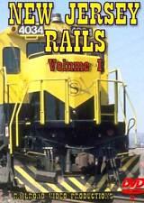 New Jersey Rails Volume 1 DVD NEW Raritan Little Ferry NJT CSX NYS&W NS Conrail