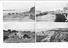 CORNISH POST CARDS VIEWS OF BUDE