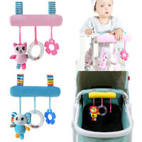 Baby Mobile Crib Music Toy Kid Crib Cot Pram Ringing Bed Bells Hanging Rattles