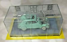 Car Dupont 2 CV   1/24  New in box + booklet Collection miniature Tintin