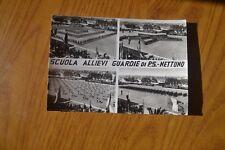 CARTOLINA SCUOLA ALLIEVI GUARDIA DI P. S. NETTUNO VIAGGIATA 1967 SUBALPINA AA
