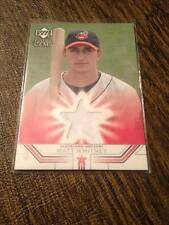 2002 UD Future Gems Jersey Card Matt Whitney Indians ROOKIE PATCH RC JERSEY!!!!!