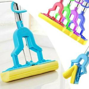 Blue Rinse and Squeeze Expandable Home Cleaning Mop