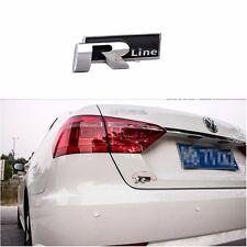 RLine R Line Badge Emblem Decal For VW Golf Jetta MK2 MK4 MK5 GTI Touareg Tiguan