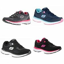 Skechers Patternless 100% Leather Upper Shoes for Women