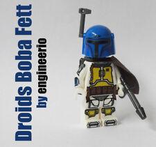Custom Boba Fett from Droids cartoon Minifigure star wars lego bricks