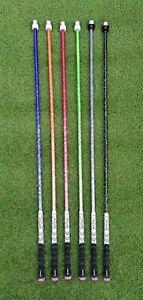 """Ein """"Swing Speed Stick"""" 250g training für höhere Schlägerkopf Geschwindigkeit"""