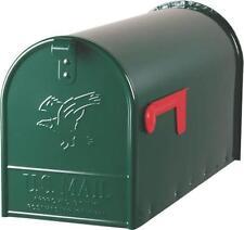 New Solar E1600G00 Usa Green Heavy Duty Metal Large Elite Rural Mailbox 0143388