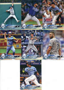 Tampa Bay Rays 2019 Topps Complete 21 Card Team Set Blake Snell Kevin Kiermaier
