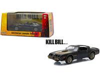 1/43 Kill Bill VOL 2 (2004) 1979 Pontiac Firebird Trans AM Black 86452