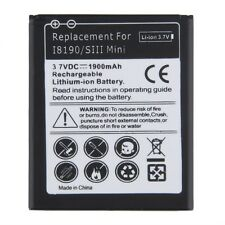 Replacement Li-ion Battery For SAMSUNG GALAXY EB-F1M7FLU S3mini I8190 1900mAh WA