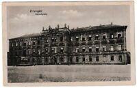 Ansichtskarte Erlangen - Blick auf das Schloss und den Schlossplatz schwarz/weiß