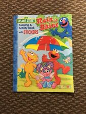 Sesame Street Grover, Rain Or Shine Coloring And Activity Book With Stickers