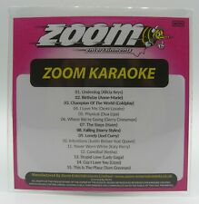 Zoom Karaoke CD+G Disc - Pop Chart Picks 2020 (Part 3) - 15 Big Pop Hits!