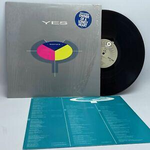 Yes 90125 Vinyl LP Record 1983 Original Shrink Hype Sticker Prog Pop Rock VG++
