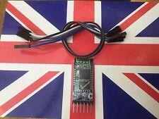 HC05 HC-05 Bluetooth Serial Module + Cables Board + Breakout Board JY-MCU UK