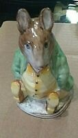 BEATRIX POTTER'S SAMUEL WHISKERS copyright 1948 FROM BESWICK ENGLAND