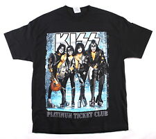 KISS 2004 Rock The Nation Platinum Ticket Club Army Corps Concert T-Shirt XL