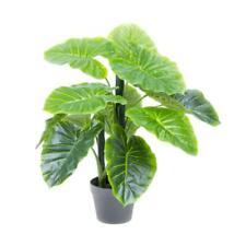 60cm Artificial Taro Plant Potted Green Fake Foliage Floral Home/ Wedding Decor