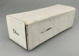 Dior Case Only Faux Leather White Hard Case DAMAGED