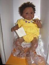 "Anne Geddes Laura Tuzio-Ross 19"" African American Baby Doll"