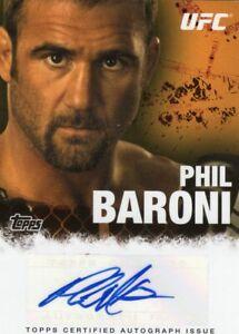 Phil Baroni 2010 Topps UFC Autograph