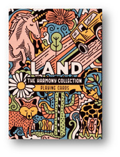 The Harmony Collection Playing Cards - Land Poker Spielkarten
