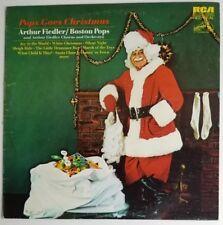 Arthur Fiedler Pops Goes Christmas RCA Red Seal LSC 3324 Boston Pops LP