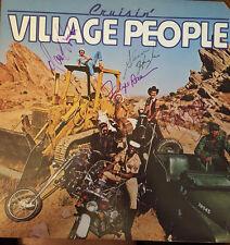 *SALE* VILLAGE PEOPLE - SIGNED CRUISIN' LP ALBUM---RARE!!